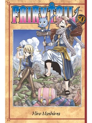 cover image of Fairy Tail, Volume 50